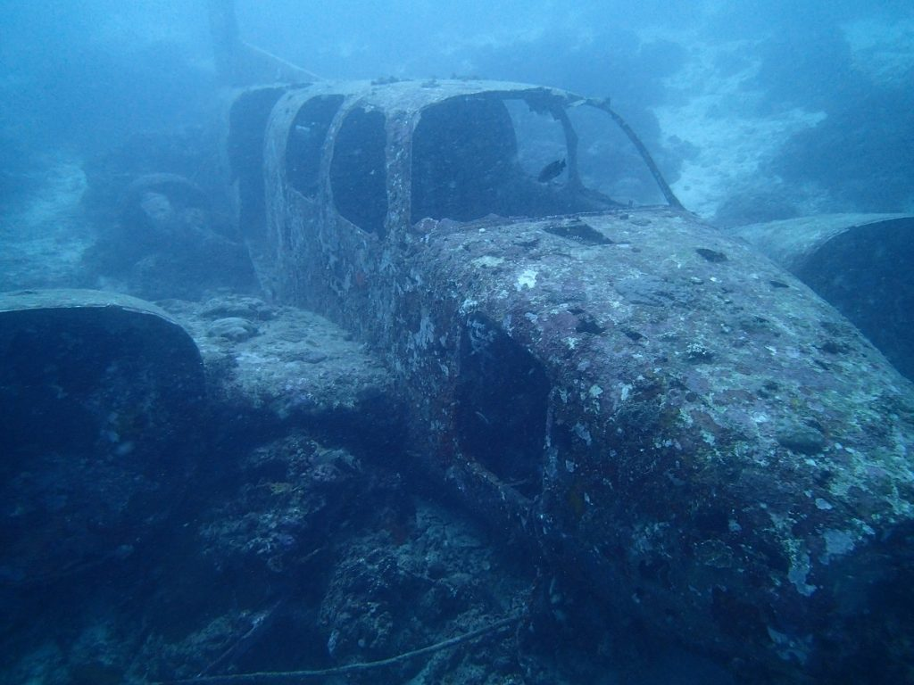 tambuli airplane wreck