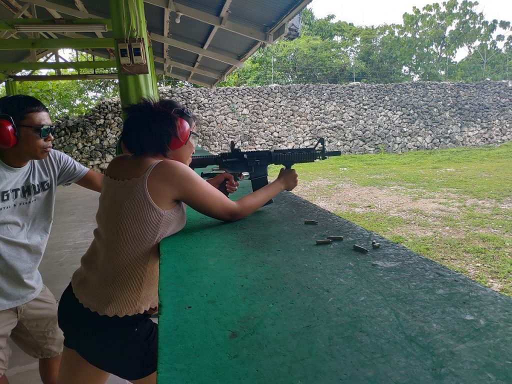 pia shooting M16A1